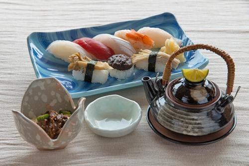きのこ寿司膳